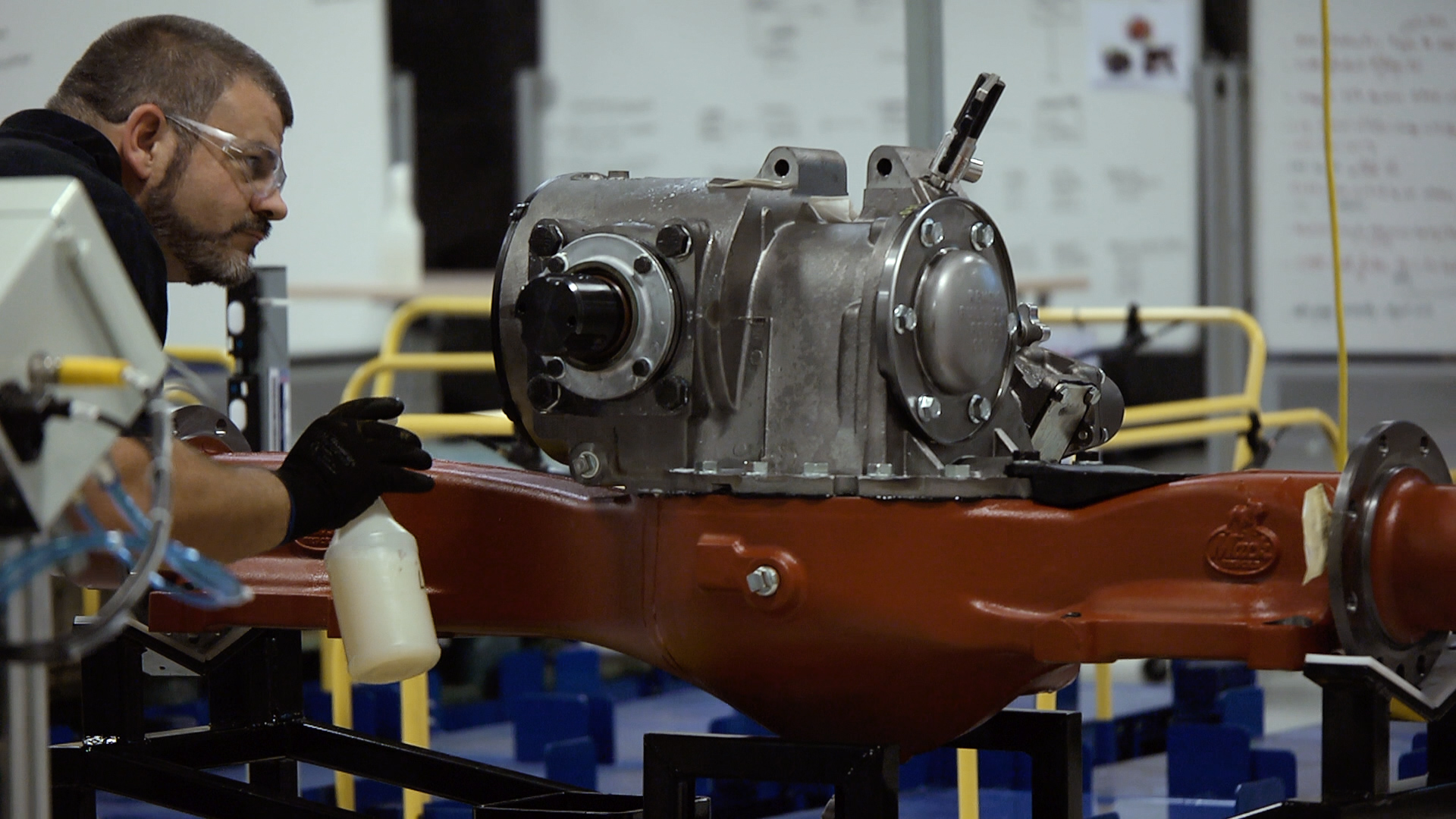 Mack Celebrates In-House Assembly of Drive Axles