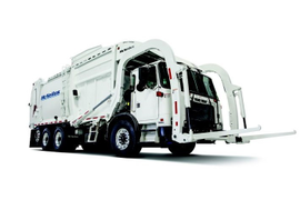 McNeilus' New Front Loading Refuse Truck Enables CNG