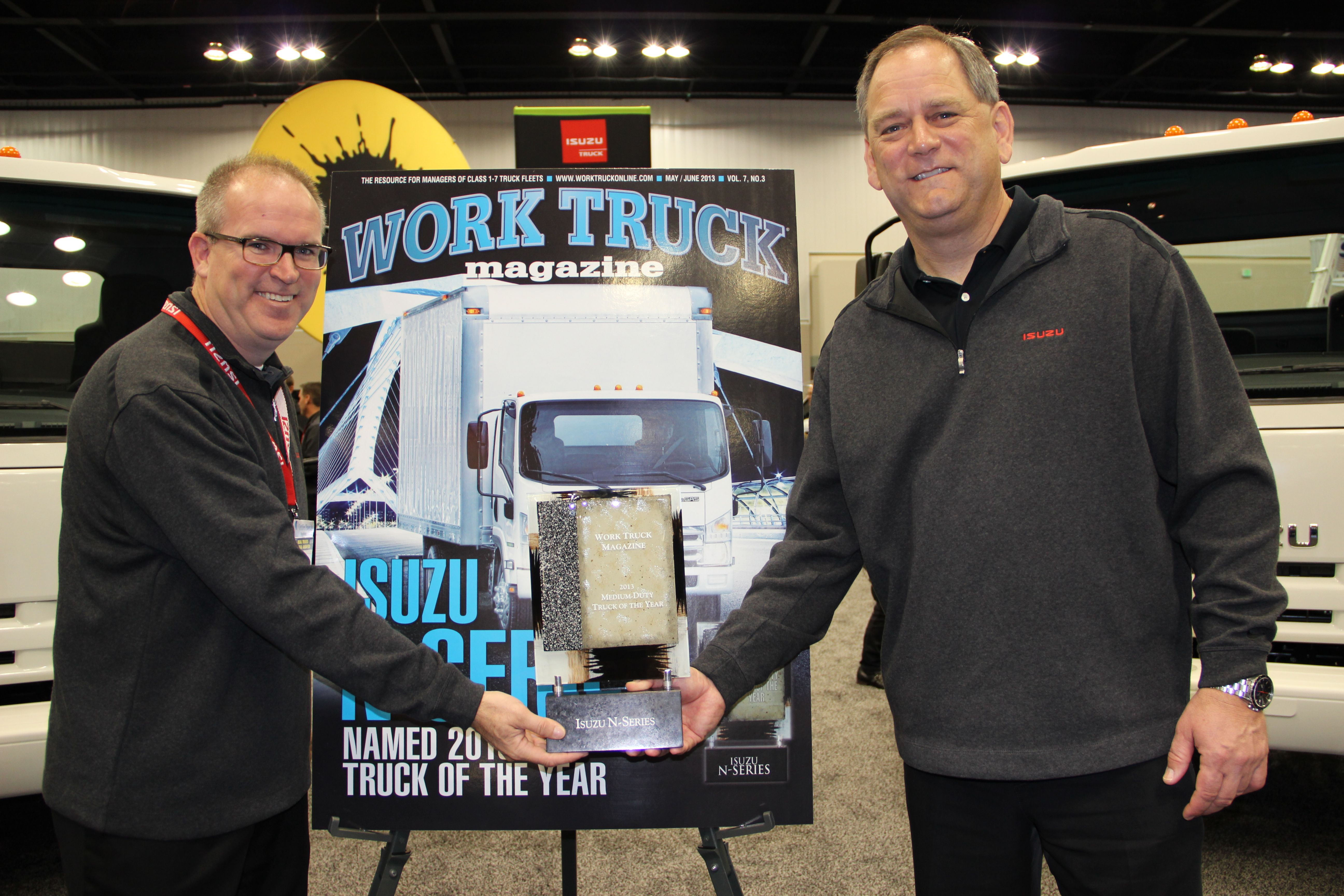 Isuzu N-Series Named Work Truck's 2013 Medium-Duty Truck of the Year