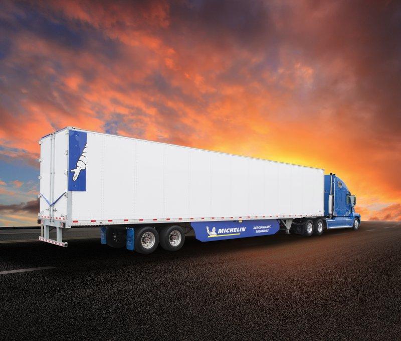 Michelin Unveils Energy Guard Tractor-Trailer Aerodynamic Solution