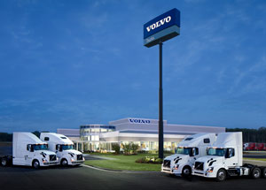 Nacarato Volvo's new facility outside of Nashville.