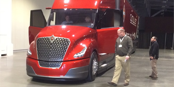 Navistar's agreement to explore composite materials for Class 8 trucks comes on the heels of the...