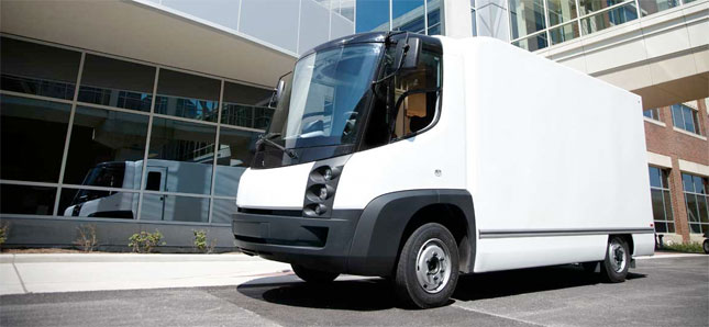 MIT study says electric trucks, like this one from Navistar, have the potential to save businesses money.