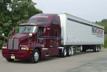 New Century Transportation has been an industry leader in adopting innovative technology such as wide-based tires.