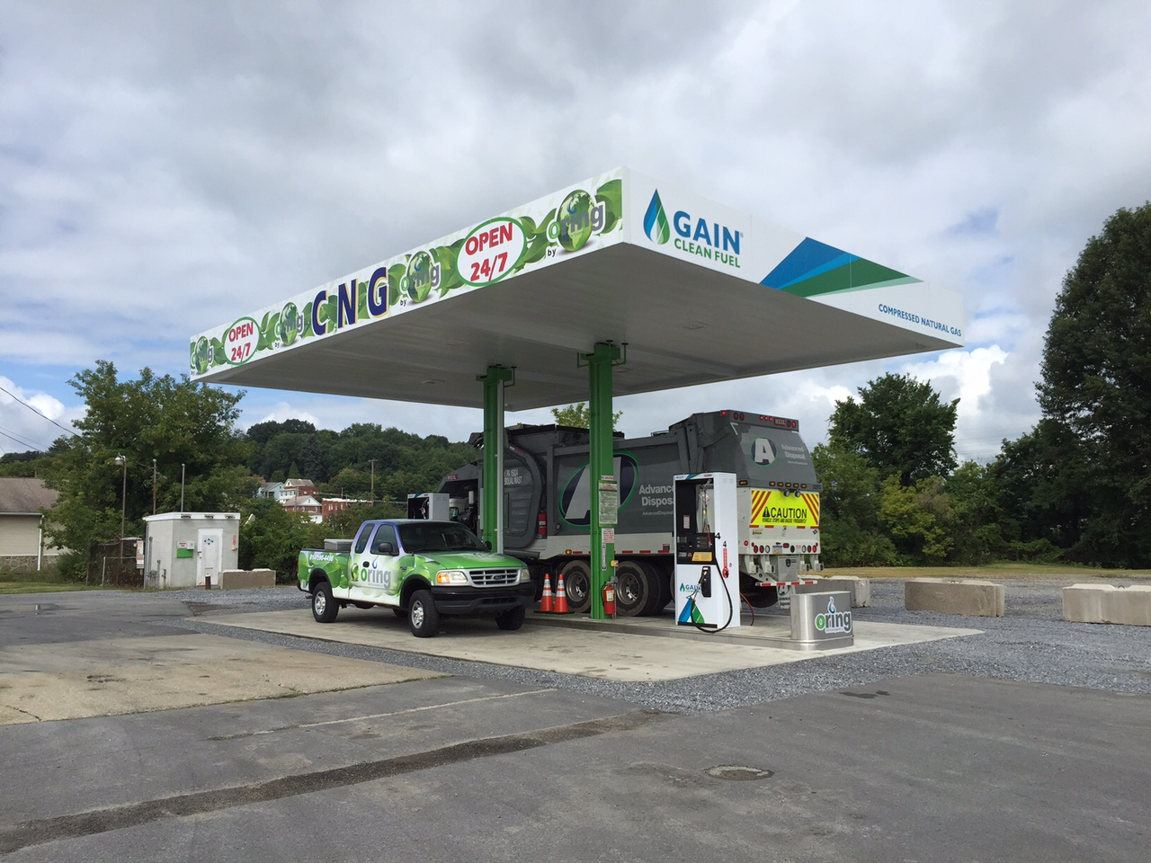 U.S. Gain Opens Public CNG Station in Pa.