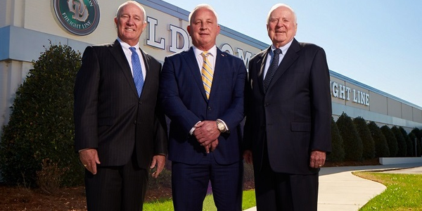 Greg Gantt (center) has been named CEO of Old Dominion Freight Line, succeeding David Congdon...