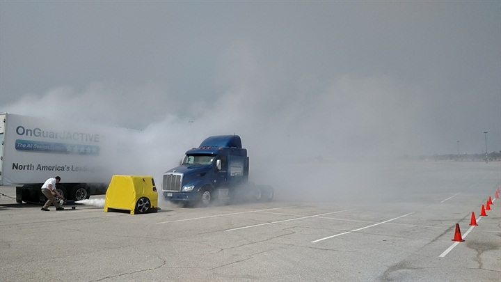 OnGuard Collision Mitigation Offered on Medium-Duty Trucks