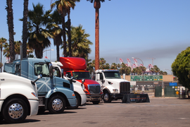 Draytech Summit Offers Glimpse of Port Trucking's Future