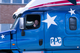 PPG Teams With Bridgestone on Fuel-Efficient Truck Tires