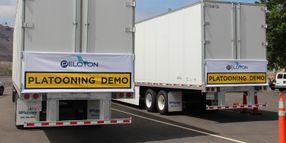 Truck Platooning System Offers Fuel Savings Potential