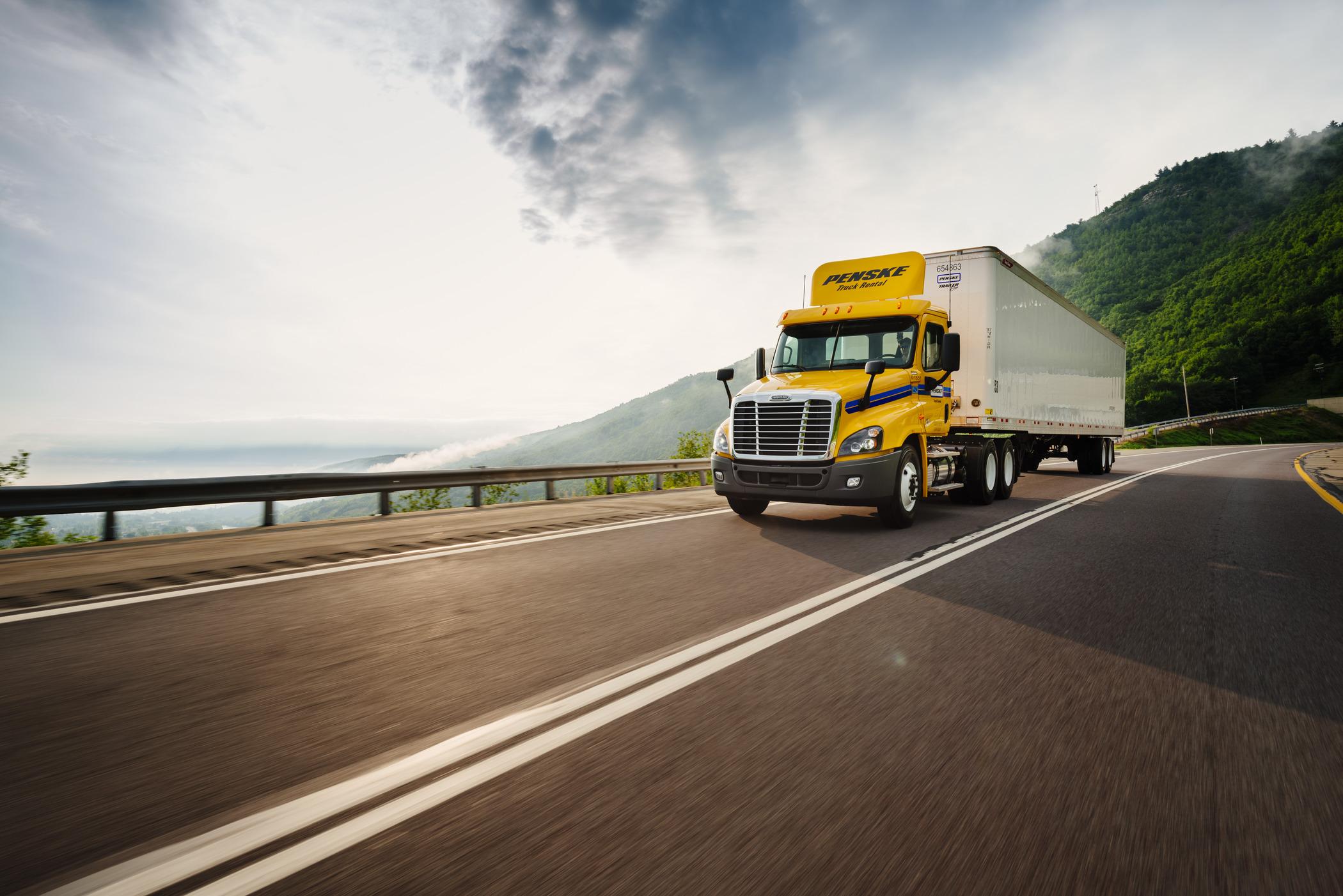 Penske Offers Electronic Log App for Rented Trucks