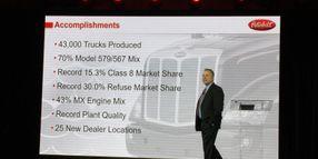 Peterbilt Sales Soar, Truck Maker Eyes Growth and Autonomous Tech