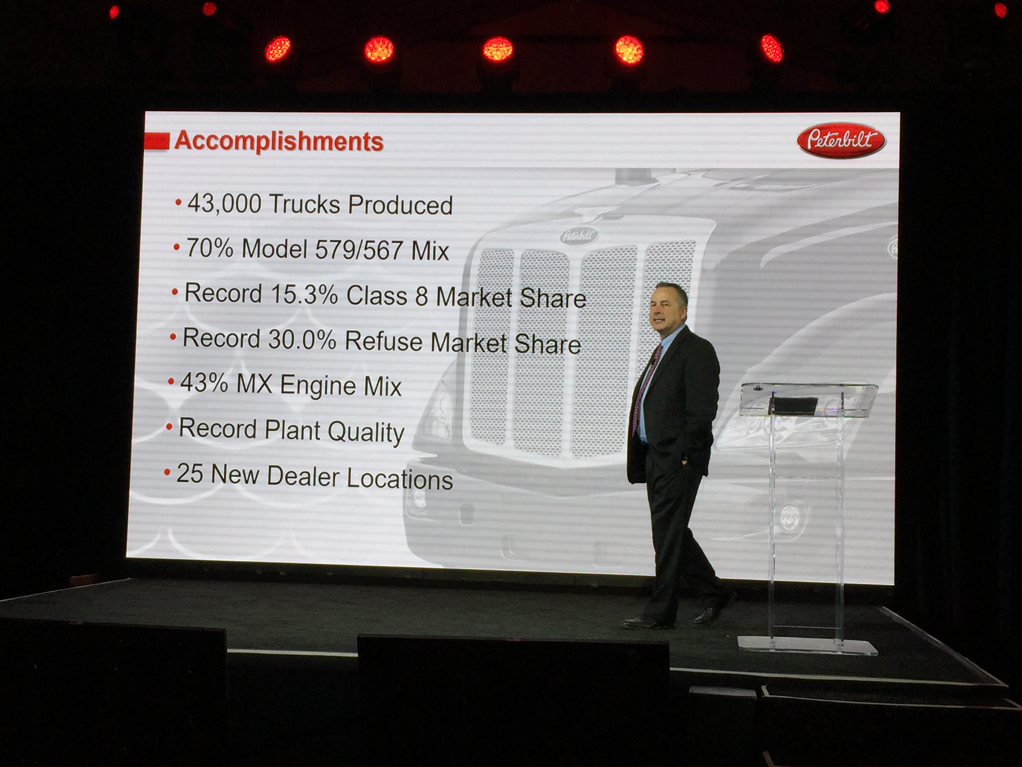 Peterbilt Sales Soar, Truck Maker Eyes Growth and Autonomous Tech
