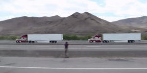 Truck Platooning Report Shows Fuel Economy Gains