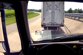 FHWA Tests Three-Truck Platoon on Virginia Interstate