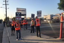 Port Strike Highlights Pay, Emissions Regulation Struggles