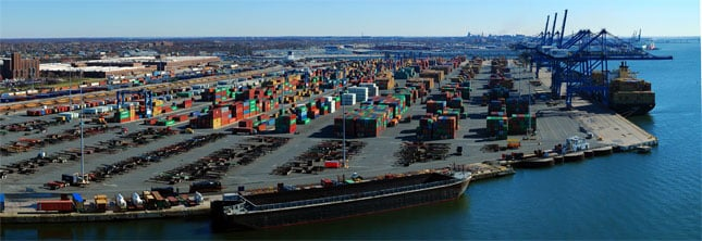 The Port of Baltimore is one of 15 ports where a strike would have halted most intermodal container handling.