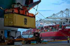 Record Year for Intermodal Containers at Nation's Largest Ports
