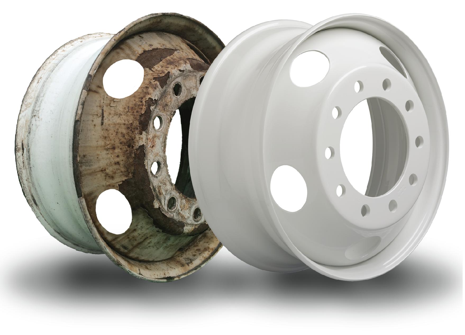 Accuride Launches ProFinish Steel Wheel Refinishing