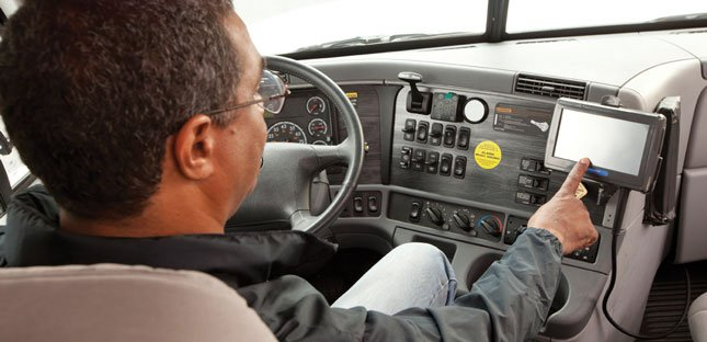 Newer devices such as Qualcomm's MCP 50 could lower the FMCSA's estimated cost of a mandatory electronic onboard recorder rule.
