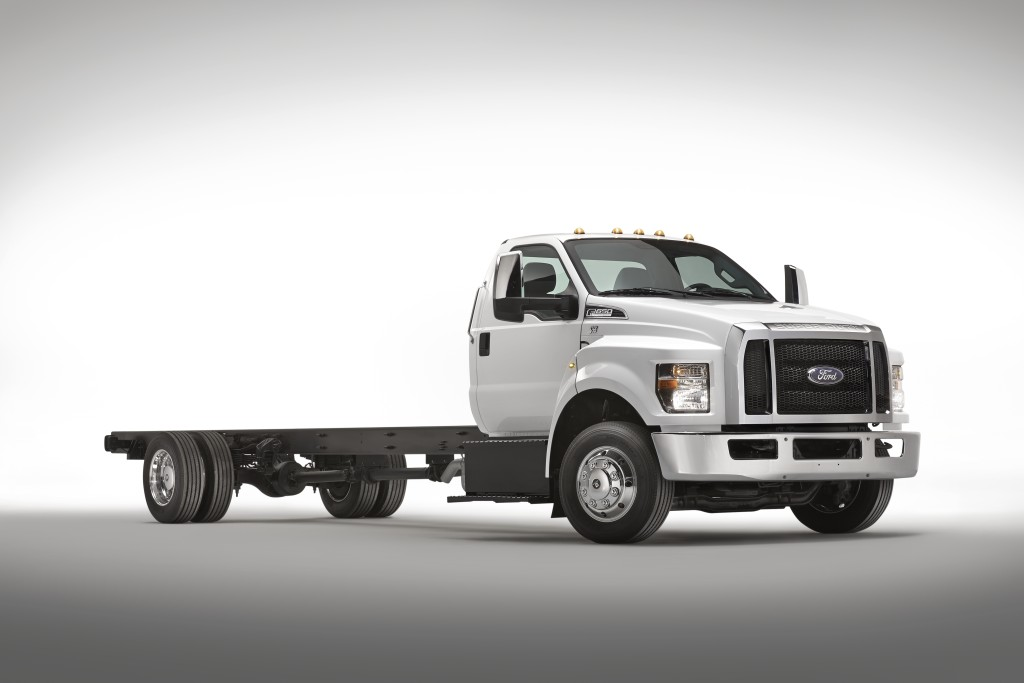 Roush CleanTech Offers Propane Fuel System for Ford F-750