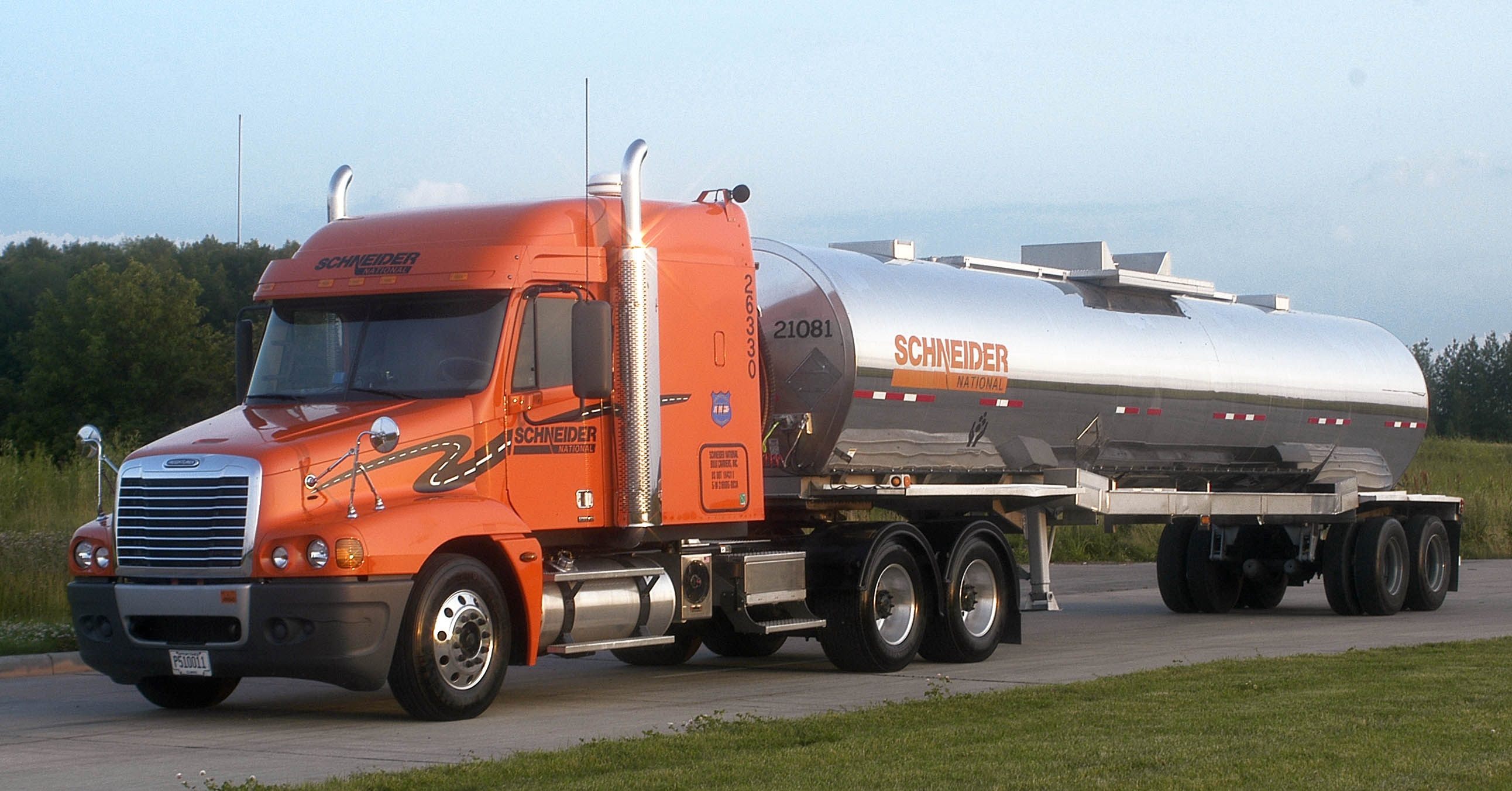 Schneider Increasing Tanker Company Driver Pay