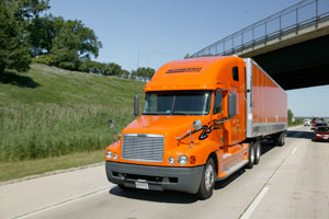 Schneider will replace one-third of its 10,000-plus trucks, at a rate of 75 per week, by the end of 2012.