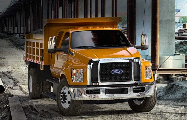 Ford Recalls F-650 Trucks for Steering Column