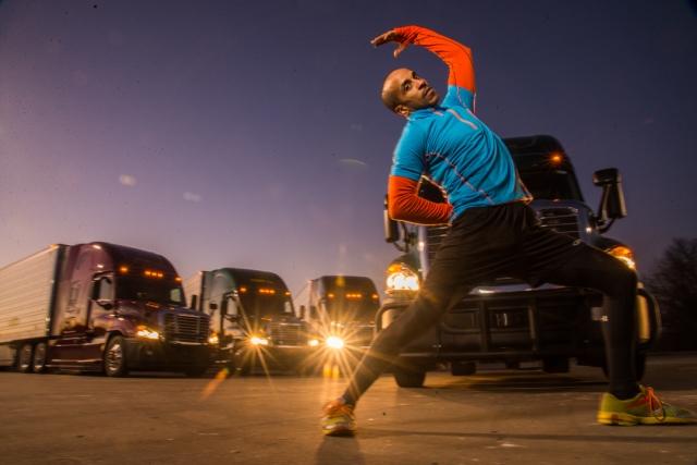 Progressive Partners with 'Fittest Trucker in America'
