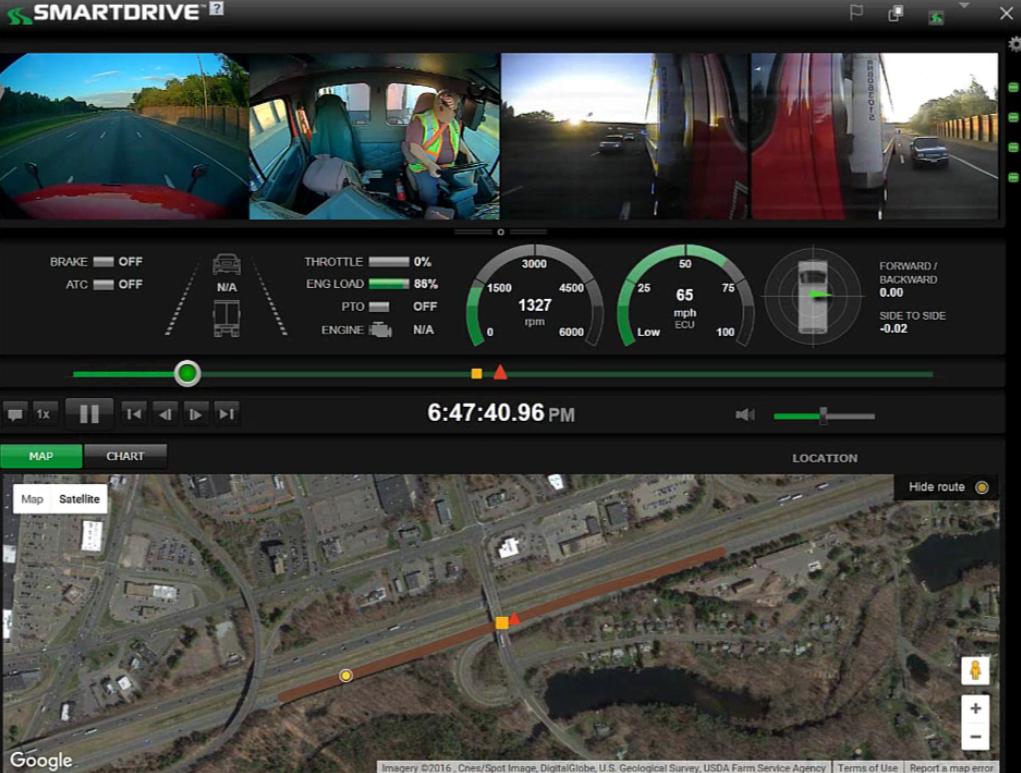 SmartDrive Cameras Can Provide 360-Degree Coverage