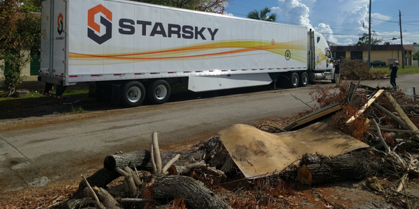 Starsky Robotics says the time for fully-autonomous trucks hauling freight has arrived. Photo:...