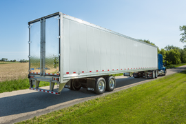 Stoughton Adds PureBlue Refrigerated Trailer to Product Lineup