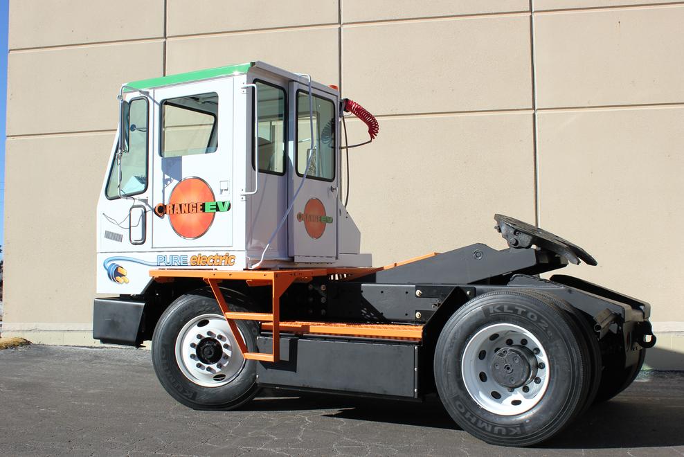Kalmar, Orange EV Collaborating on Electric Terminal Tractor