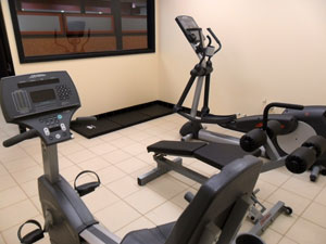 TA hopes to have 50 fitness rooms like this one open by the end of the year.