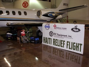 Trucking Industry Steps Up to Provide Relief to Haiti