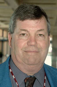 Doug White was one of four recipients of TMC's Silver Spark Plug Award.