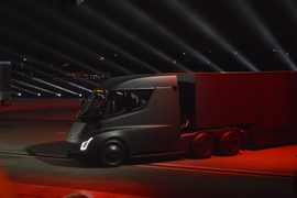 Details Emerge on Tesla's Planned Electric Truck Charging Network