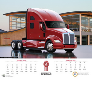 Kenworth's 2012 Calendar now Available