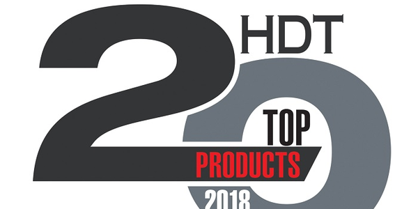HDT has announced its list of the Top 20 Products for 2018.