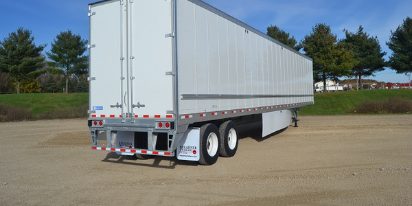 Net trailer orders rose 24% year-over-year driven partly by increasing freight demand. Photo:...