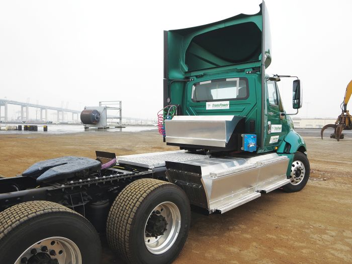 California Awards $23.6 Million for Electric Drayage Trucks