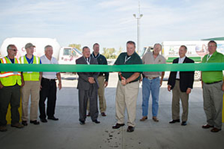 Trillium Opens Ohio CNG Fueling Station