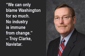 Navistar's Clarke Talks Change, Opportunity, Turnaround