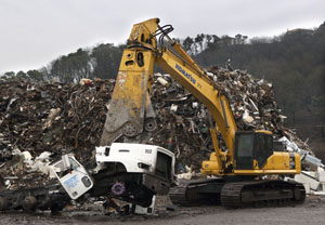 The ScRAPS Program (Scrappage and Retrofits for Air in Puget Sound) has taken more than 250 old trucks off the road since 2009.