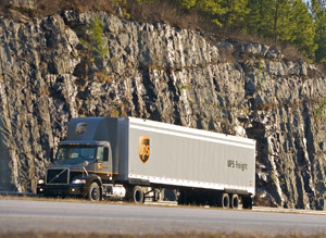 UPS Freight's expanded service includes two-day transit between Montreal and Milwaukee, Rockford, Ill., and St. Louis as well as between Toronto and points in Georgia and the Carolinas. (Photo by UPS)