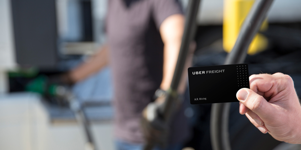 The new Uber Freight Plus program offers discounts on items from fuel to new trucks. Photo: Uber...