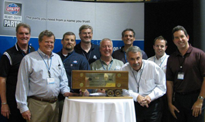 Utility received the award during the 2010 Utility Parts Trade Fair, held June 3 in Anaheim, Calif.