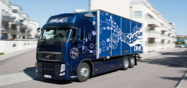 Volvo says its European tests of DME as an alternative fuel have been promising and will explore its possibilities in North America.