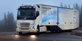 Volvo's Euro Efficiency Concept Truck Now Boasts Hybrid Power