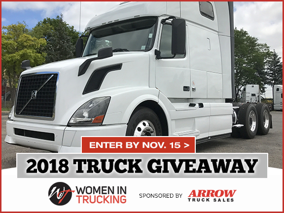 Arrow Truck Sales Donates Volvo VNL to Women In Trucking
